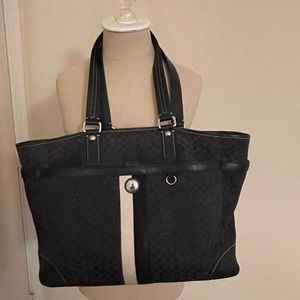 Coach Book/ Diaper Bag